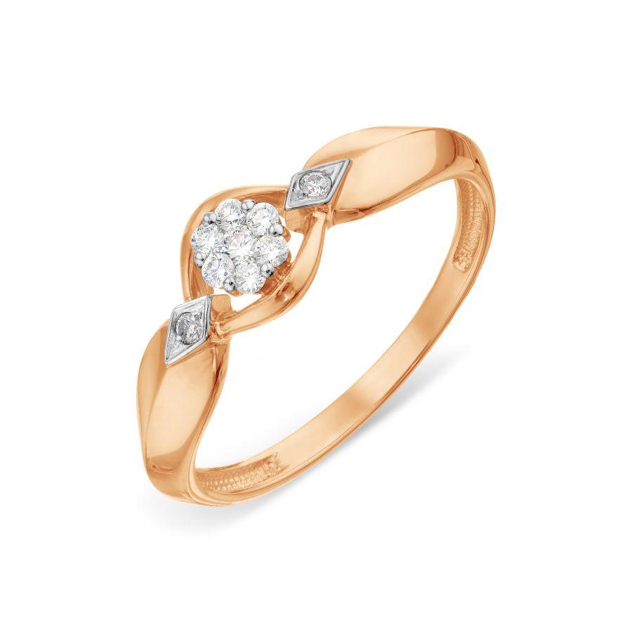 Кольцо с бриллиантами (арт. Т131018900)